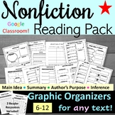 Nonfiction Reading Pack - Reading Comprehension - Handouts