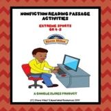 Nonfiction Reading Passage Activities