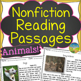 Nonfiction Reading Passages About Animals