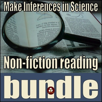 Nonfiction Science Reading Passages Bundle