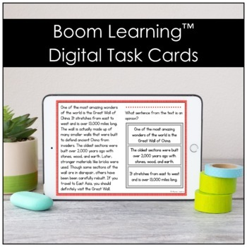 Nonfiction Reading Passages (Digital and Print Versions)