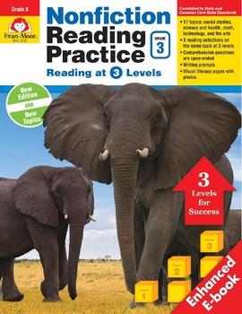 Nonfiction Reading Practice, Grade 3