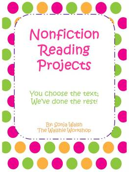 Nonfiction Reading Projects/Centers - Grades 3, 4, & 5 (Th
