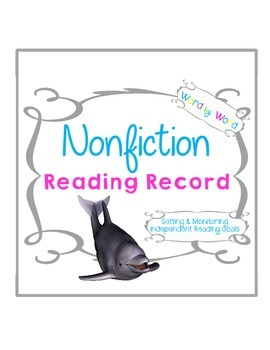 Nonfiction Reading Record Logbooks Setting & Monitoring In