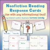 Nonfiction Response Cards