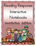 Nonfiction Reading Response Interactive Notebooks