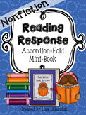 Nonfiction Reading Response ~ an Accordion-Fold Mini-Book Activity