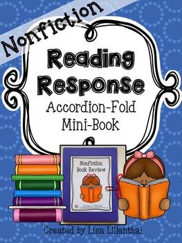 Nonfiction Reading Response ~ an Accordion-Fold Mini-Book Activity