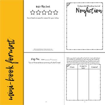 Nonfiction Reading Response Journal