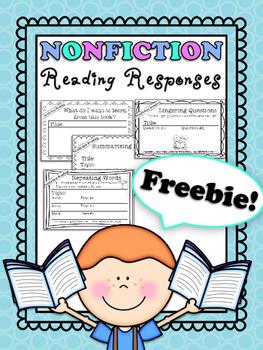 Nonfiction Reading Responses