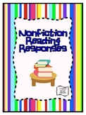 Nonfiction Reading Responses ~ 2nd-5th Grades