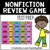 Nonfiction Reading Review Game- Test Prep