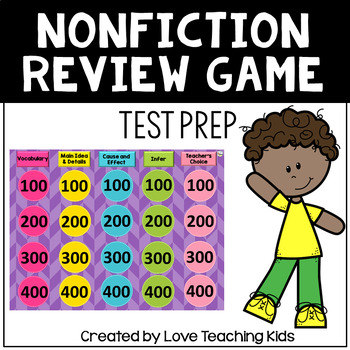 Nonfiction Test Prep Review Game