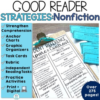 Nonfiction Reading Strategies Bundle