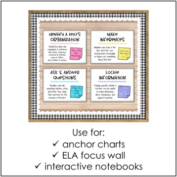 Nonfiction Reading Strategies Posters