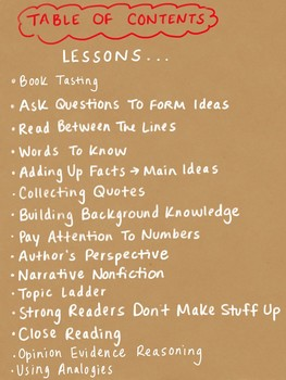 Nonfiction Reading Strategies Toolkit