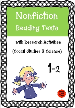 Nonfiction Reading Texts with Research Sheets 1-2 ( Science & History )