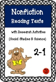 Nonfiction Reading Texts with Research Sheets ( Science &