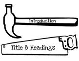 Nonfiction Reading Tools