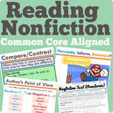 Nonfiction Reading Unit (Common Core Aligned)