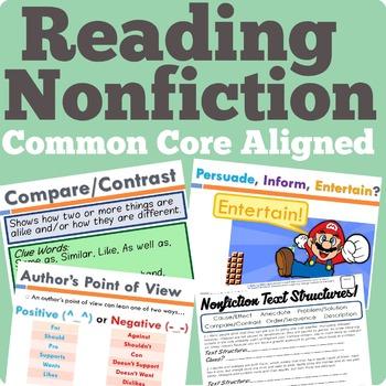Nonfiction Reading Unit (Common Core Aligned)
