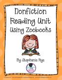 Nonfiction Reading Unit using Zoobooks