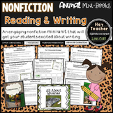 All About Books: Animal Reports (Nonfiction Reading and Writing Mini Unit)