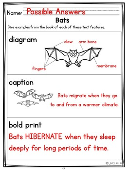 Nonfiction Reading and Writing Grades 1-2 Companion -Informational ANIMAL Texts
