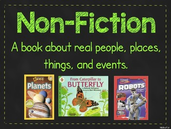 Nonfiction Reference Posters