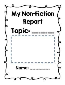 Nonfiction Report