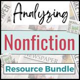 Nonfiction Resource Bundle- Graphic Organizers, Question S