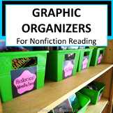 Graphic Organizers Nonfiction Reading