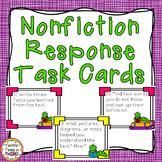 Nonfiction Response Task Cards