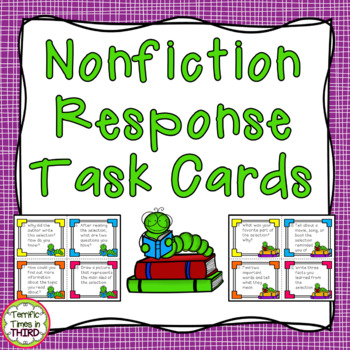 Nonfiction Response Task Cards