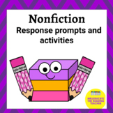 Nonfiction Response activities