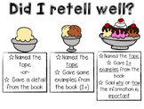 Nonfiction Retell Rubric