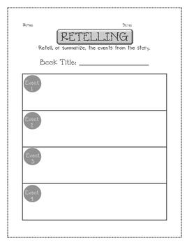 Nonfiction Retelling Organizer