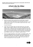 Nonfiction 5th STAAR Passage - Vocab and Informational TEKS (Death Valley)