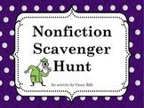 Nonfiction Scavenger Hunt for Intermediate Grades