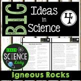 Nonfiction Science Close Reading 4: Igneous Rocks