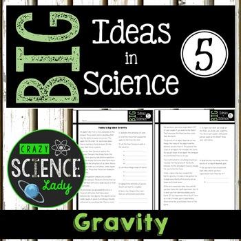 Nonfiction Science Close Reading 5: Gravity