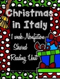 Shared Reading: Nonfiction Shared Reading Plans- Christmas