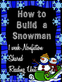 Shared Reading: Nonfiction Shared Reading Plans- How to Bu