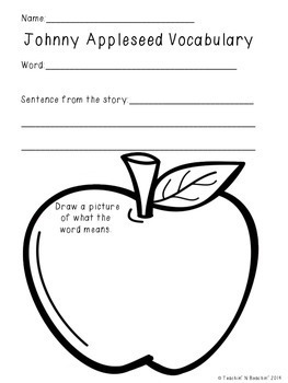 Shared Reading: Nonfiction Shared Reading Plans- Johnny Appleseed- CCSS