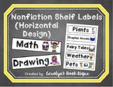 Nonfiction Shelf Labels (Horizontal)