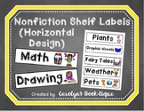 Nonfiction Shelf Labels (Horizontal)- UPDATED