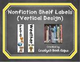 Nonfiction Shelf Labels (Vertical)