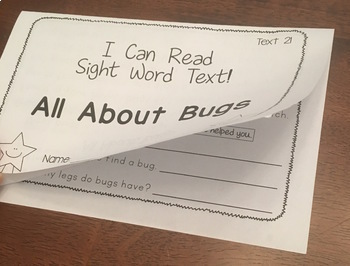 Nonfiction Sight Word Stories
