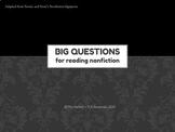 Nonfiction Signpost Essential Questions POWERPOINT