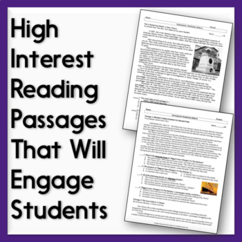 Nonfiction Skills Quizzes: Text-Based Assessments